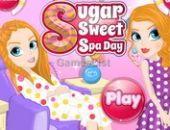 Jogo Açúcar Doce Dia De Spa