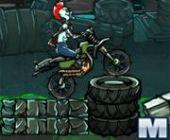 Atomic Zumbi Motocross Jogo