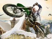 Inverno Acrobacias De Bicicleta gratis jogo